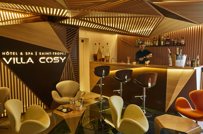 Salon et bar hôtel & spa - Villa Cosy