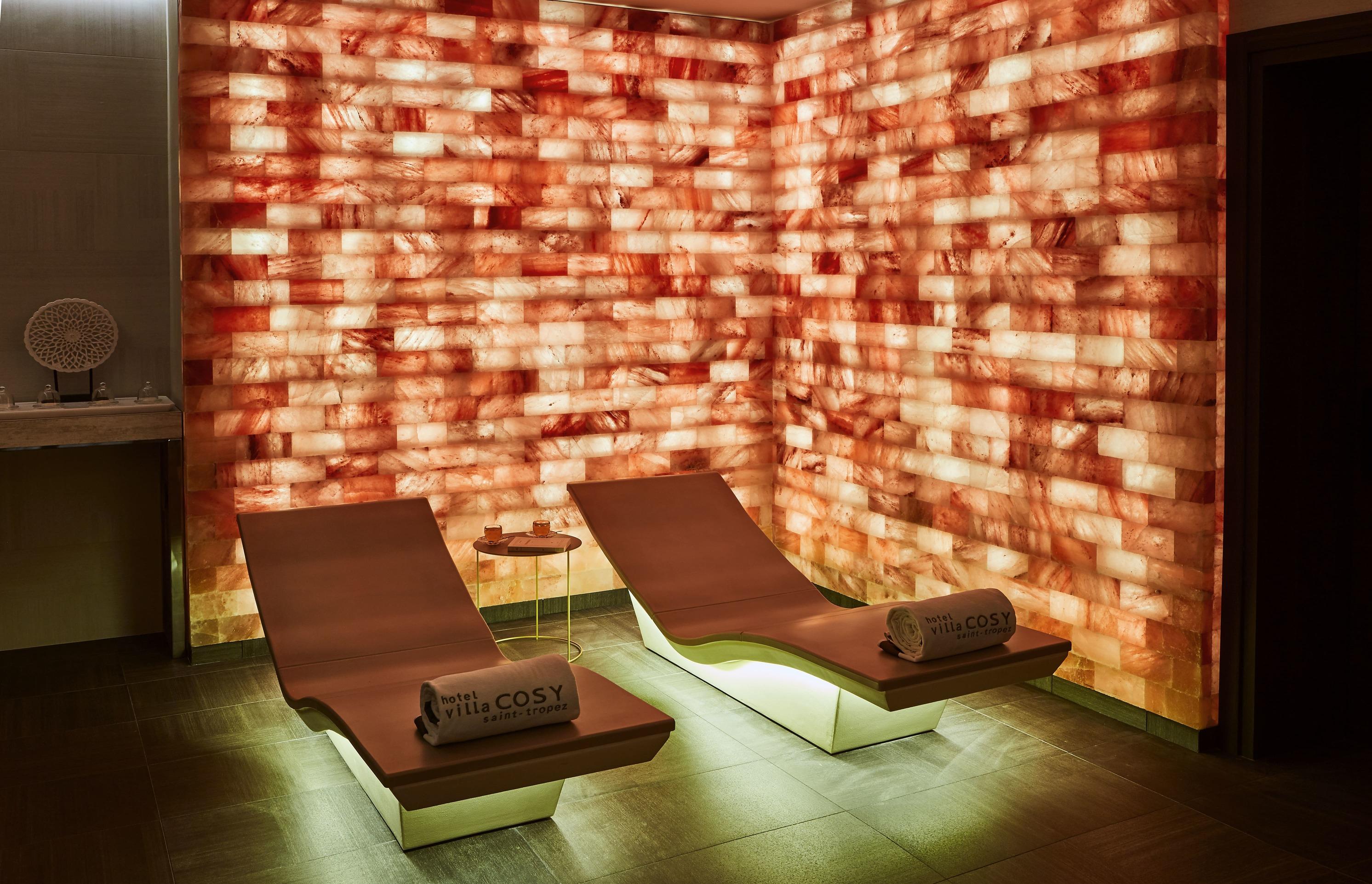 spa - mur de sel - Villa Cosy